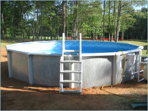 Inground Pool Above Ground